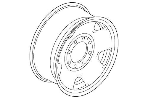 Ford, WHEEL Assembly, 8C3Z-1015-B by Motorcraft