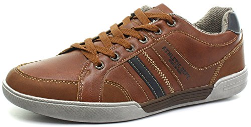21 Halbschuhe Herren Athletic Tan 41 Leisure Beige Dept Route M9547BT dwqFvn6