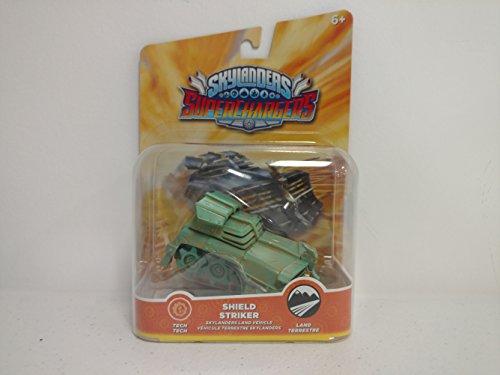 Skylanders Superchargers Rare Chase Variant Patina Shield Striker