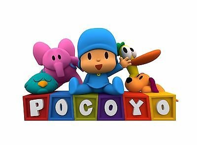 sdore Pocoyo comestible cumpleaños 1/2 media hoja imagen ...
