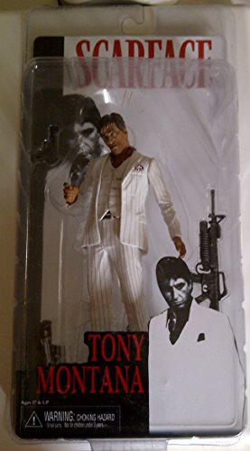 (Scarface Tony Montana White Suit 7