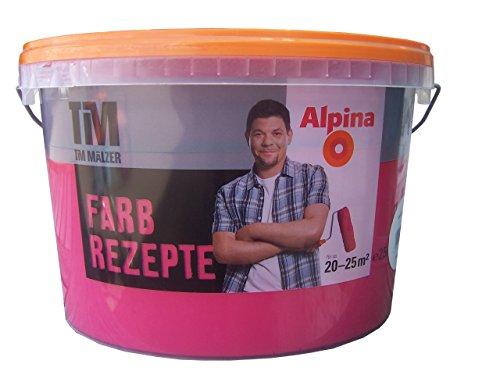 ALPINA Farbe Tim Mälzer Farbrezepte 2,5 L., Wilde Beere, Pink ...