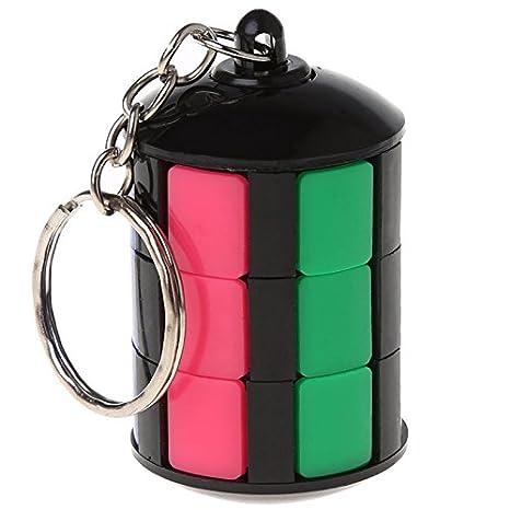 Kofun llavero magnético con forma de cubo de la Torre de la ...