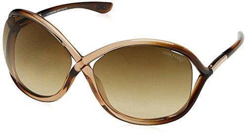 Tom Ford Sunglasses - Whitney / Frame: Champagne Fade Lens: Brown - Whitney Sunglasses Ford Tom