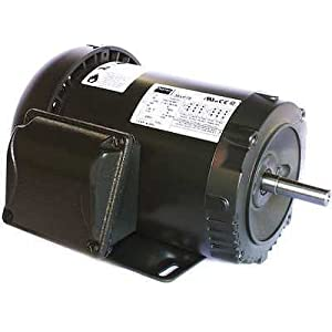 Dayton 36VF19 GP Motor, Degrees_Fahrenheit, to Volts, Amps, (
