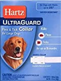 Dog Supplies Ultraguard Flea and Tick Large Dog Collar 26″ – White, My Pet Supplies