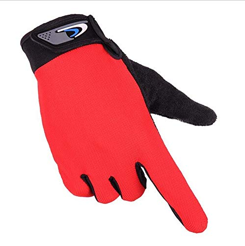 Qiu Ping Bicycle Riding Shockproof Non-slip Breathable Outdoor Sports Full Finger Touch Screen Gloves