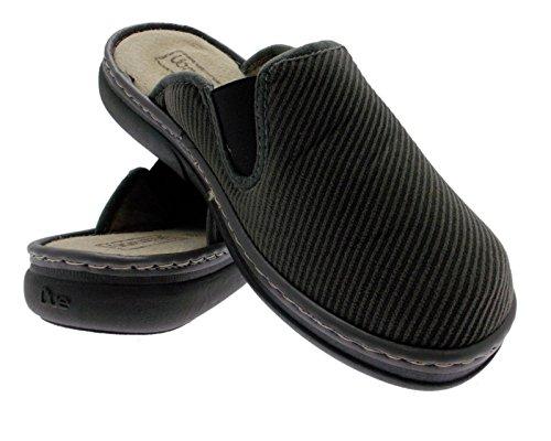 chaussures de velours pantoufle GRIS article 758