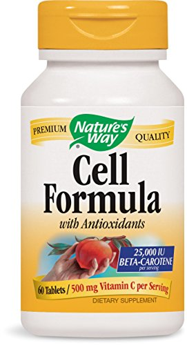 - Cell Formula w/ Antioxidants (formerly Antioxidant Formula), 60 Tablets