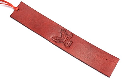 Handmade Leather Bookmark | Eagle w/Multiple Color Options by Lodgepole Leathercraft