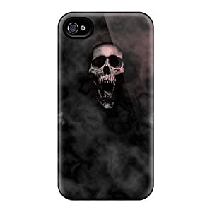 Fashion Protective Skulls In Color Case Cover For Iphone 4/4s