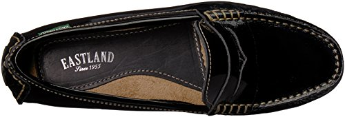 Eastland Womens Patricia Loafer Black Patent