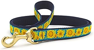 product image for Up Country Bright Sunflowers Dog Leash
