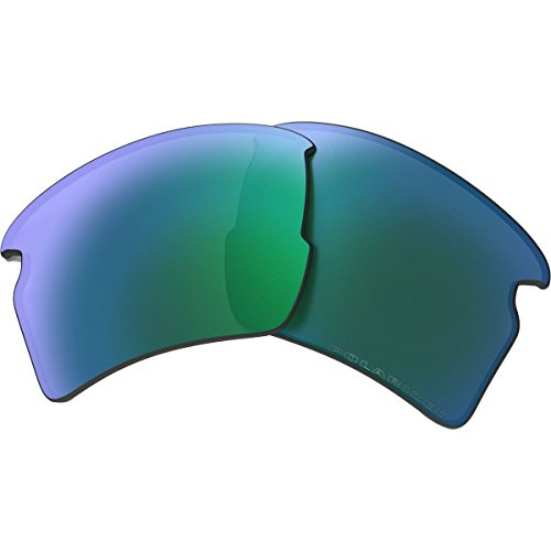 Oakley Flak 2.0 Replacement Lens Jade Iridium Polarized, One - Iridium Jade Polarized