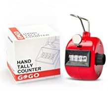 GOGO Counter, Handheld Tally Counter 4 Digit Display for Lap/Sport/Coach/School/Event