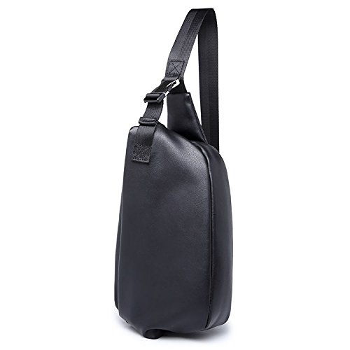 Neue vielseitige multifunktionale Brust Pack Herren l?ssige Tasche schwarz UsSHjt