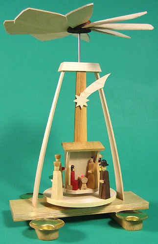 Dregano Christmas Aframe Nativity Pyramid Germany