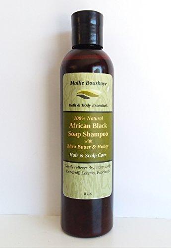 African Black Soap Shampoo | Shampoo by Mallie Boushaye Essentials