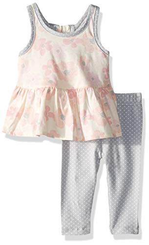 Gerber Baby Girls Tunic and Legging Set, Flowers, 18 Months
