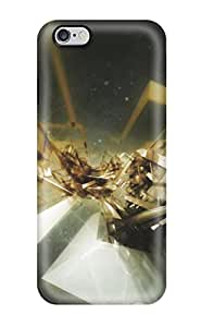 Fashion Tpu Case For Iphone 6 Plus- Artistic Abstract Defender Case Cover