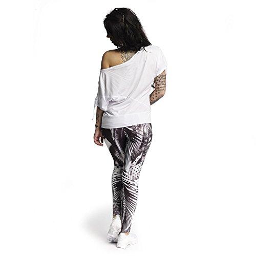 Yakuza Mujeres Ropa superior / Camiseta Take Any Shape blanco