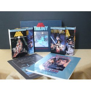 Star Wars Trilogy; Special Letterbox Collector's Edition (Star Wars Return Of The Jedi Vhs)