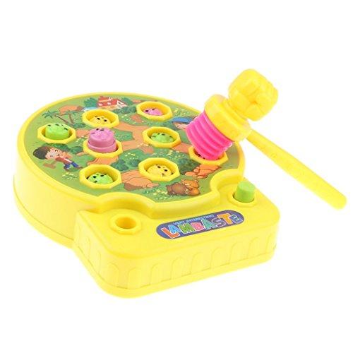 Baosity 3カラー ハンマートイ モグラ叩きゲーム 赤ちゃん 子供用  叩くおもちゃ 知育玩具 モグラたたきゲーム - #2の商品画像