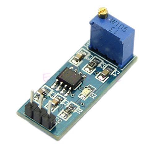 Fucung 1pcs NE555 Frequency Adjustable Pulse Generator Module For Arduino 5V-12V Smart Car