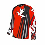 Uglyfrog Outdoors Mens Cool Breathable Cycling Jersey Motocross Top