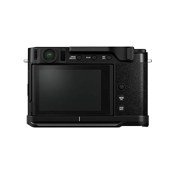 RetinaPix Fujifilm X-E4 Mirrorless Camera Body with Accessories - Metal Hand Grip (MHG-XE4) & Thumb Rest (TR-XE4) - Black