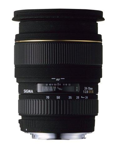 Sigma 24-70mm f/2.8 EX DG Macro Aspherical Large Aperture Standard Zoom Lens for Canon SLR Cameras