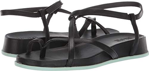 Camper Women's Servolux Atonik Strapped Leather Sandals, Black (BLK/001), 40