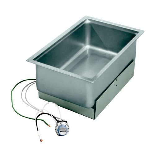 Wells SS-206ER Economy Food Warmer bottom-mount built-in electric round corners