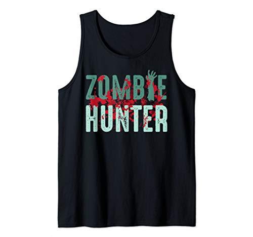 Zombie Hunter Halloween Art Cute Deadly Deer Hunting Gift Tank Top]()