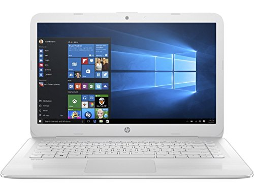 2017 HP Stream 14 inch Flagship Laptop, Intel Celeron Core N3060 up to 2.48GHz, 4GB RAM, 32GB SSD, WiFi 802.11ac, Bluetooth 4.0, HDMI, Webcam, USB 3.1, Windows 10 Home (Certified Refurbished) (Usb Gb Hp 32)
