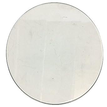 Amazon.com: BALITENSEN - Plato redondo de cristal de ...