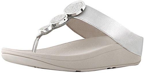Women High Heels Fashion Breathable Sandals (Silver) - 7
