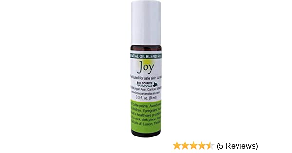 Amazon.com: Joy Essential Oil Blend 0.3 fl oz (9 ml) Coping with Loss of Love, Grief, Sadness with essential oils of Neroli, Lemon, Vanilla and Jasmine: ...