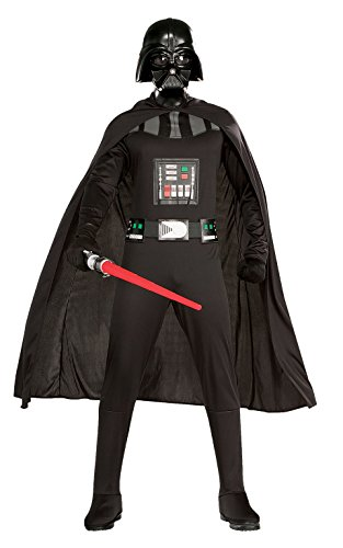 Dark Helmet Costumes (Rubie's Costume Star Wars Complete Darth Vader, Black, Standard)