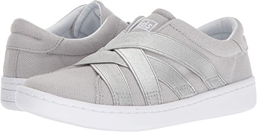 Keds Girls' Ace Gore Sneaker, Grey, 1.5 Medium US Little (Ace Foam)
