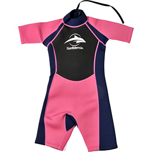 - Konfidence Shorty Children's Wetsuit - Pink (7-8 Years)