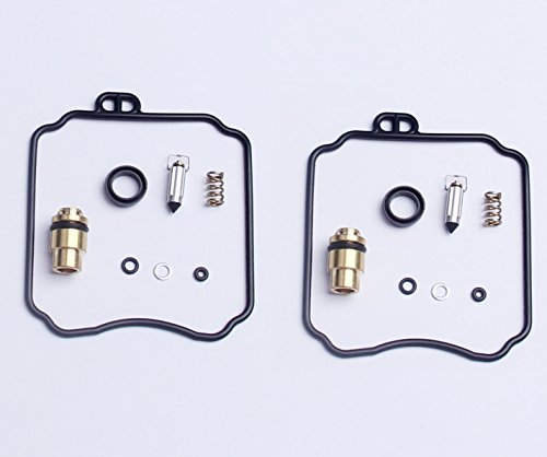 (New 2x Carburetor Carb Repair Rebuild Kits For Yamaha XV250 Virago XVS650 V-Star 18-5171)