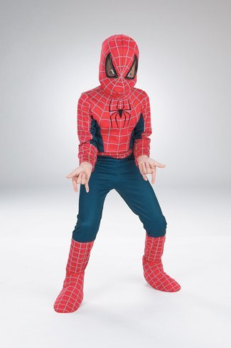 Costumes For All Occasions DG5662K Spiderman Movie Ch 7 To 10 Standard by Disguise Costumes