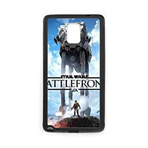 games Star Wars Battlefront Game Poster Samsung Galaxy Note 4 Cell Phone Case Black 91INA91435484