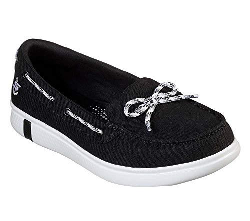 Skechers Go Glide The Beach Women's Blackwhite Shoes Ultra Boat On 8 5 Life FJTK1ulc3