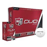 Wilson. Smart Core Golf Ball - Pack of 24 (White)