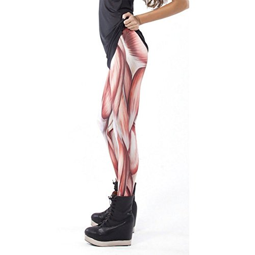Ensasa Graphic Printed Workout Leggings