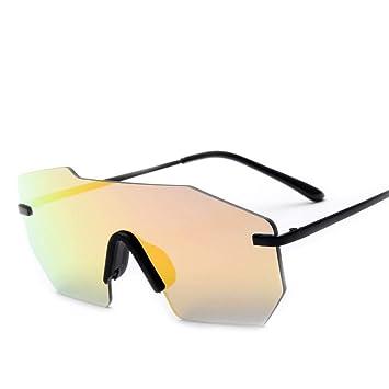 Ludage Buena Gafas de Deporte Gafas de Sol a Prueba de Viento y contra la radiación