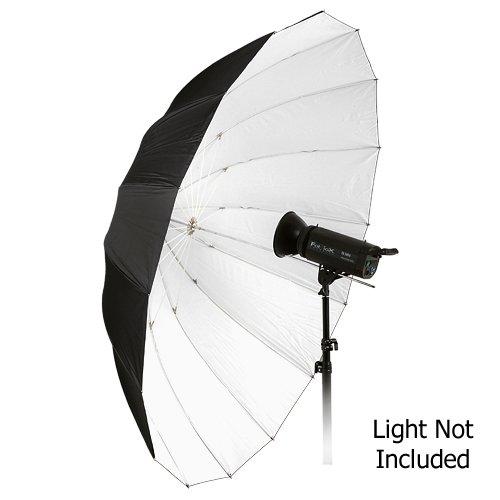 "Fotodiox Pro 16-rib, 72"" Black and White Reflective Parabolic Umbrella"
