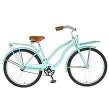 Hollandia Holiday F1 Cruiser Bike, 26 inch Wheels, 11 inch Frame, Women's Bike, Mint Green